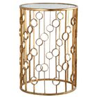 O Collection End Table Color: Gold