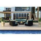 Urbana 3 Piece Sunbrella Sofa Set with Cushions Fabric: Canvas Spa