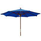 9' Market Umbrella Color: Pacific Blue
