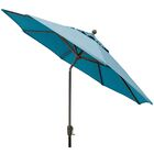 Sunbrella 9' Market Umbrella Color: Sky Blue