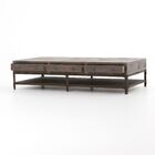 Hendrick Washed Gray Coffee Table
