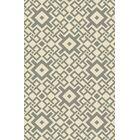 Aura Beige/Moss Indoor/Outdoor Area Rug Rug Size: Rectangle 3'3