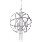 Kelson 6-Light Globe Chandelier Finish: Silver Leaf