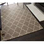Beauvais Geometric Hand-Tufted Wool Beige Area Rug Rug Size: 5' x 8'