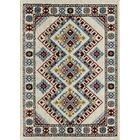 Oxon Hill Tribal Beige Area Rug Rug Size: Rectangle 8' x 10'