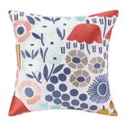 Mayflower III Embroidered Throw Pillow