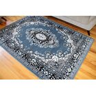 Isfahan Country Blue Area Rug Rug Size: Rectangle 6'5
