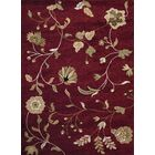 Blocher Burgundy Area Rug Rug Size: Rectangle 7'10