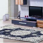 Lilienthal Distressed Navy Area Rug Rug Size: Rectangle 5'2