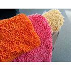 Chenille Salmon Pink Area Rug Rug Size: Runner 2'7