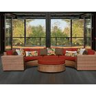 East Village 6 Piece Sectional Set with Cushions