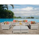 Ansonia Sofa Set with Cushions Color: Gray