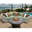 Ansonia 4 Piece Sofa Set with Cushions Color: Cilantro