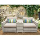 Ansonia 3 Piece Sofa Set with Cushions Color: Wheat