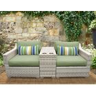 Ansonia 3 Piece Sofa Set with Cushions Color: Cilantro