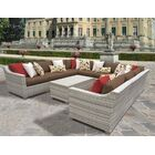 Ansonia 11 Piece Sectional Set with Cushions Color: Cocoa