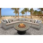 Ansonia 6 Piece Sofa Set with Cushions Color: Wheat