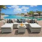 Ansonia 7 Piece Sectional Set with Cushions Color: Beige