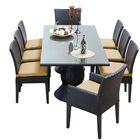 Napa 9 Piece Dining Set with Cushions Cushion Color: Sesame