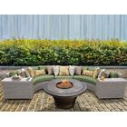 Florence 6 Piece Sectional Set with Cushions Fabric: Cilantro