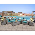 Florence 7 Piece Sofa Set with Cushions Fabric: Aruba