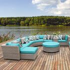 Florence 12 Piece Sectional Set with Cushions Fabric: Aruba