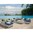 Ansonia 14 Piece Sectional Set with Cushions Color: Navy