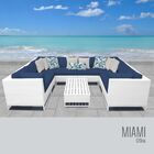 Miami 9 Piece Sectional Set with Cushions Fabric: Cilantro