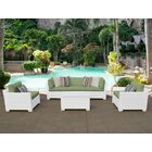 Monaco 6 Piece Sectional Set with Cushions Cushion Color (Fabric): Cilantro