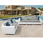 Miami 5 Piece Sofa Set with Cushions Color: Gray