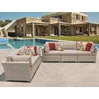 Monterey 5 Piece Sofa Set with Cushions Color: Wheat