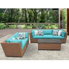 East Village 6 Piece Sofa Set with Cushions Color: Aruba