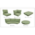 Florence 22 Piece Outdoor Cushion Set Fabric: Cilantro
