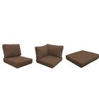 Florence 21 Piece Outdoor Cushion Set Fabric: Cocoa