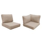 Florence 13 Piece Outdoor Cushion Set Fabric: Wheat