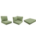 Florence 25 Piece Outdoor Cushion Set Fabric: Cilantro