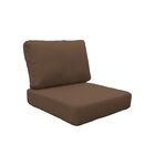 Miami Outdoor Lounge Chair Cushion Fabric: Cocoa