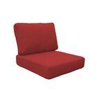 Miami 6 Piece Outdoor Lounge Chair Cushion Set Fabric: Terracotta