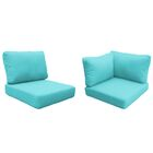 Florence 8 Piece Outdoor Cushion Set Fabric: Aruba