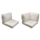 Miami 18 Piece Outdoor Cushion Set Fabric: Coverless