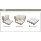 Eldredge Outdoor 14 Piece Lounge Chair Cushion Set