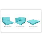 Monterey 14 Piece Outdoor Cushion Set Fabric: Aruba