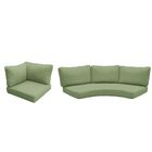 East Village 10 Piece Outdoor Cushion Set Fabric: Cilantro