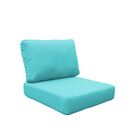 Fairmont 4 Piece Outdoor�Lounge Chair Cushion Set Fabric: Aruba