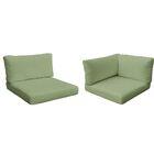 Monterey Outdoor 12 Piece Lounge Chair Cushion Set Fabric: Cilantro