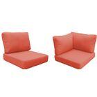 Fairmont Outdoor�Replacement Cushion Set Fabric: Tangerine