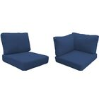 Coast Outdoor�Replacement Cushion Set Fabric: Navy