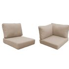 Coast Outdoor�Replacement Cushion Set Fabric: Wheat