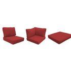 Fairmont 12 Piece Outdoor�Lounge Chair Cushion Set Fabric: Terracotta