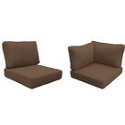 Fairmont 17 Piece Outdoor�Lounge Chair Cushion Set Fabric: Cocoa